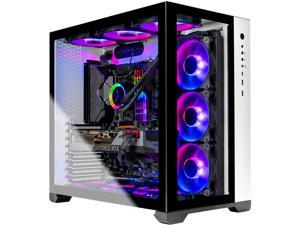 Skytech PRISM II Gaming PC Desktop - AMD Ryzen 9 3950X 3.50 GHz, RTX 3090 24 GB, 64 GB 3600 RGB MEM, 1 TB Gen4 SSD, X570 Motherboard, 360mm AIO, White