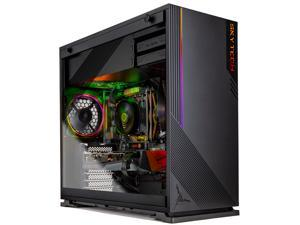 Skytech AZURE Gaming PC Desktop - AMD Ryzen 5 3600 3.60 GHz, RTX 3070 8 GB, 16 GB DDR4 3000, 1 TB NVMe SSD, B450 Motherboard, 650W Gold PSU, Windows 10 Home 64-bit, Black