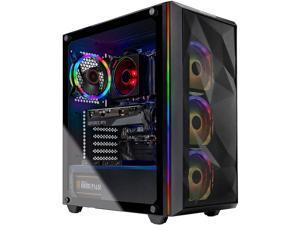 Skytech Chronos Gaming PC Desktop - AMD Ryzen 7 3700X 3.60 GHz, RTX 3070 8 GB, 16 GB DDR4 3200, 1 TB NVMe SSD, B550 Motherboard, 650W Gold PSU, Windows 10 Home 64-bit, AC WiFi