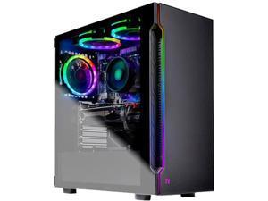 Skytech Shadow Gaming Computer PC Desktop - Ryzen 7 2700 3.20 GHz, RTX 2060 SUPER, 500 GB SSD, 16 GB DDR4 3000, RGB Fans, Windows 10 Home 64-bit, 802.11ac Wi-Fi (Refurbished)