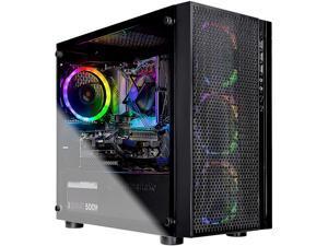 Skytech Blaze Gaming Computer PC Desktop - Intel Core i5 9400F 6-Core 2.9 GHz, GTX 1650 SUPER 4 GB, 500 GB SSD, 8 GB DDR4 3000 MHz, B365 Motherboards, RGB Fans, Windows 10 Home (Refurbished)