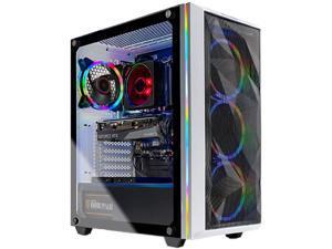 Skytech Chronos Gaming PC Desktop - AMD Ryzen 7 3700X 3.9GHz, RTX 3070 8GB, 16GB DDR4 3200, 1TB NVME, Windows 10 Home 64-bit, White, (Refurbished)
