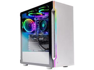 Skytech Gaming - Archangel Gaming Desktop - AMD Ryzen 5 2600X - 16GB Memory - NVIDIA GeForce GTX 1660 - 500GB SSD - White (Refurbished)
