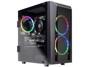 Skytech Gaming Desktop Blaze II Ryzen 5 2nd Gen 2600 (3.40 GHz) 16 GB DDR4 500 GB SSD NVIDIA GeForce GTX 1660 SUPER Windows 10 Home 64-bit