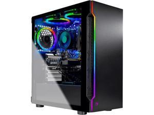 Skytech Gaming Desktop Shadow ST-SHADOW-2600-1660R Ryzen 5 2nd Gen 2600 (3.40 GHz) 8 GB DDR4 500 GB SSD NVIDIA GeForce GTX 1660 Windows 10 Home