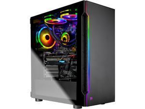 Skytech Shadow Gaming Computer PC Desktop - Intel i7 9700K 3.6GHz, RTX 2070 8G, 1TB SSD, 16GB DDR4 3000MHz, 120mm AIO, Windows 10 Home 64-bit, 802.11ac Wi-Fi (Refurbished)