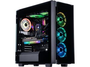 ABS Gladiator Gaming PC - Intel i9 11900KF - EVGA GeForce RTX 3080 FTW3 Ultra Gaming - Corsair Vengeance RGB 32GB 3200MHz - 2TB Intel M.2 NVME SSD - Corsair H115i ELITE AIO 280mm
