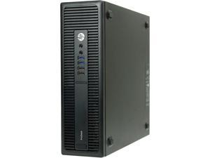 HP Desktop Computer 600 G2-SFF Intel Core i7 6th Gen 6700 (3.40 GHz) 16 GB DDR4 512 GB SSD Intel HD Graphics 530 Windows 10 Pro 64-bit