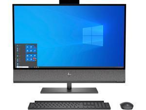 "HP All-in-One Computer ENVY 32-a1055 Intel Core i7 10th Gen 10700 (2.90 GHz) 16 GB DDR4 32 GB Optane Memory 1 TB HDD 512 GB SSD 31.5"" Windows 10 Home 64-bit"