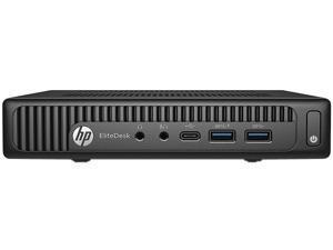 HP Desktop Computer EliteDesk 800 G2 Intel Core i5 6th Gen 6500T (2.50 GHz) 8 GB 256 GB SSD Intel HD Graphics 530 Windows 10 Pro 64-bit