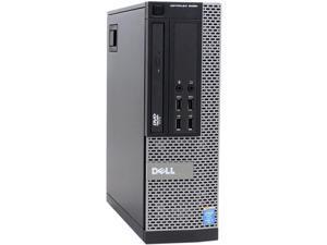 DELL Desktop Computer OptiPlex 9020 Intel Core i5 4th Gen 4570 (3.20 GHz) 8 GB DDR3 256 GB SSD Intel HD Graphics 4600 Windows 10 Pro 64-bit