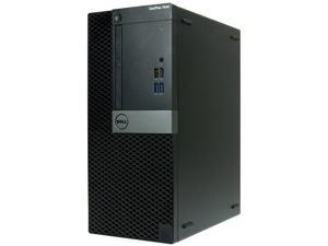 DELL 7040-T Desktop Computer Intel Core i7 6th Gen 6700 (3.40 GHz) 16 GB 512 GB SSD Intel HD Graphics 530 Windows 10 Pro 64-bit