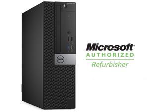 DELL Desktop Computer, Refurbished by Microsoft Authorized Refurbisher (MAR) - Grade A OptiPlex 7050 Intel Core i5 6th Gen 6500 (3.20 GHz) 8 GB DDR4 256 GB SSD Intel HD Graphics 530 Windows 10 Pro 64-