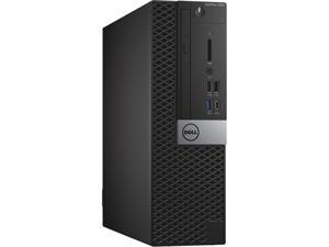 DELL Desktop Computer OptiPlex 7050-SFF Intel Core i5 7th Gen 7500 (3.40 GHz) 16 GB 256 GB SSD Intel HD Graphics 630 Windows 10 Pro 64-bit
