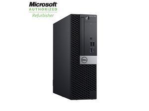 DELL Grade A Desktop Computer OptiPlex 7060 Intel Core i5 8th Gen 8500 (3.00 GHz) 8 GB DDR4 500 GB HDD Intel UHD Graphics 630 Windows 10 Pro 64-bit