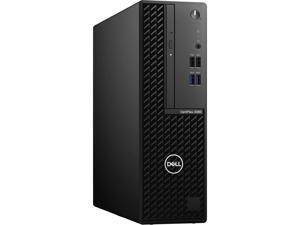 DELL Desktop Computer OptiPlex 3080 01KJX Intel Core i3 10th Gen 10100 (3.60 GHz) 8 GB DDR4 500 GB HDD Intel UHD Graphics 630 Windows 10 Pro 64-bit