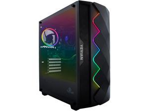 Yeyian Gaming Desktop Shoge X01 YPB-SHO-X01 Intel Core i5 10th Gen 10400F (2.90 GHz) 8 GB DDR4 512 GB NVMe SSD NVIDIA GeForce GTX 1660 SUPER Windows 10 Home 64-bit