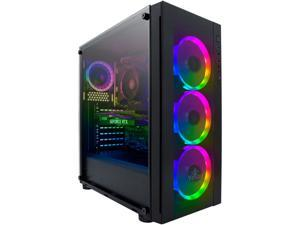 Yeyian Gaming Desktop Katana R01 YPB-KAT-R01 Ryzen 5 5000 Series 5600X (3.70 GHz) 16 GB DDR4 1 TB NVMe SSD NVIDIA GeForce RTX 3060 Ti Windows 10 Home 64-bit