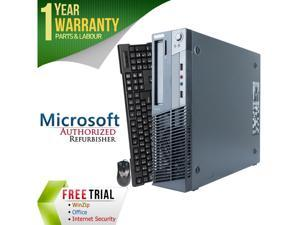 Refurbished Lenovo M78 Slim/Small Form Factor AMD A4-Series APU 5300B 3.4 GHz / 4 GB DDR3 / 250 GB / DVD / Windows 7 Professional 64-bit