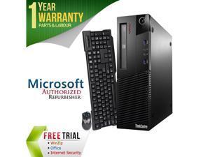 Refurbished Lenovo ThinkCentre M83 Desktop SFF Intel Core i5 4570 3.2G / 16G DDR3 / 2TB / DVD / Windows 7 Professional 64 Bit / 1 Year Warranty