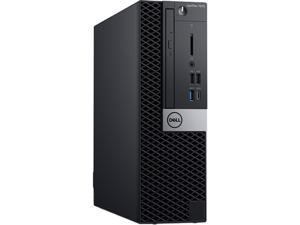 DELL OPTIPLEX 7070 (P1MHG) - Business Desktop PC - Intel Core i5 9500 (6-Core 3.0 GHz), Intel UHD Graphics 630, 8 GB DDR4, 256 GB SSD, Intel Q370, Small Form Factor, Windows 10 Pro 64-bit