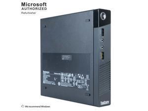 Certified Refurbished Lenovo ThinkCentre M93P Tiny Intel i5 4590T 2.0GHz, 8GB DDR3, Brand New 240GB SSD, WIFI, BT 4.0, HDMI, USB 3.0, VGA, DP Port, Windows 10 Professional 64 Bits