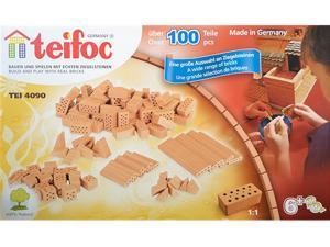 Teifoc 4090 Assorted Brick Construction Set - 100+ Pcs.