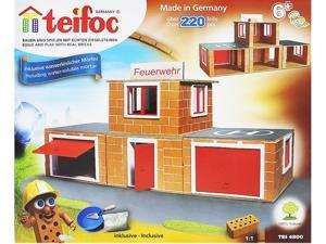 Teifoc 4800 Fire Station Construction Set