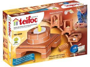 Teifoc 4020 Deco-Box Includes LED Light Brick Construction Set - 20+ Pcs.