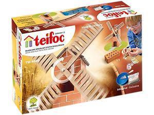 Teifoc 4040 Windmill Brick Construction Set - 50+ Pcs.
