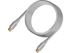 SilverStone HDMI Cable 4k Resolution at 60 Hz, with HDMI 2.0b Certification in Charcoal Gray Color CPH01C-1800
