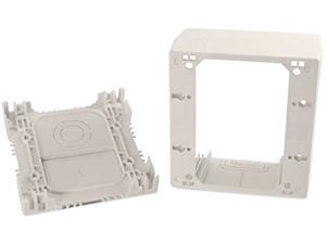 Wiremold NM2044-2FW Uniduct Double Gang Extra Deep Junction Box - Fog White (TAA Compliant)