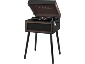 Victrola VTA-75-ESP Bluetooth Record Player Stand with 3-Speed Turntable