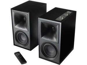 Klipsch Heritage Wireless The Fives Matte Black Home Audio Speaker Pair