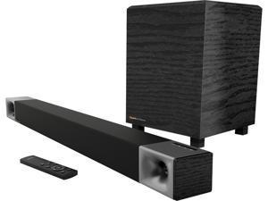 """Klipsch Cinema 400 2.1 Sound Bar with 8"""" Wireless Subwoofer System"""