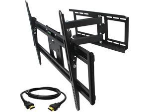 Megamounts GMW663-HDMI-BNDL Full Motion Wall Mount for 32-70 in. Displays with HDMI