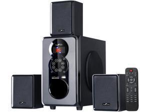 BeFree Sound BFS-55 3.1 CH 50W 3.1 Channel Surround Sound Bluetooth Speaker System System