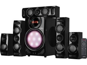 BeFree Sound BFS-510C 5.1 CH Surround Sound Bluetooth Speaker System