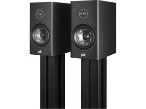 Polk Audio Reserve Series R200 Black Bookshelf Speakers - Pair