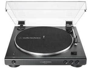 Audio-Technica AT-LP60XBT-USB-BK Fully Automatic Wireless Belt-Drive Turntable
