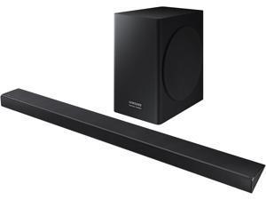 Samsung Harman Kardon HW-Q60R/ZA 360W Soundbar with Samsung Acoustic Beam. Dedicated Center Channel: With a center channel dedicated to delivering clear dialogue, you won't miss a word. Wireless Sub