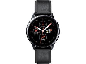 Samsung SM-R835FSKAXAC Galaxy Watch Active2 (40mm, LTE) - Black Stainless Steel
