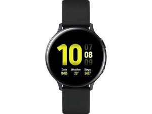 Samsung Galaxy Watch Active2 44mm, Aluminum Aqua Black (SM-R820NZKAXAC)