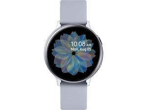 Samsung Galaxy Watch Active2 with Bluetooth - 44mm - Cloud Silver Aluminum (SM-R820NZSAXAC)