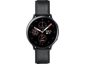 Samsung SM-R825FSKAXAC Galaxy Watch Active2 (44mm, LTE) - Black Stainless Steel
