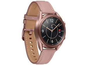 Samsung Galaxy Watch 3 (41mm, GPS, Bluetooth) Smart Watch with Advanced Health Monitoring, Fitness Tracking, and Long Lasting Battery - Mystic Bronze