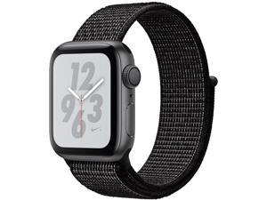 Apple MU7G2B/A Watch Nike+ Series 4 GPS, 40mm Space Grey Aluminium Case with Black Nike Sport Loop
