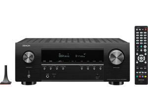Denon AVR-S960H 7.2CH 8K Ultra HD AV receiver with 3D Audio, Voice Control and HEOS Built-in