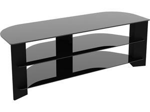 """AVF FS1300VARBB-A Up to 65"""" Reflections - Varano Corner TV Stand"""