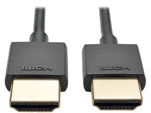 Tripp Lite 6 ft. Hi-Speed HDMI Cable with Ethernet Digital (M/M), UHD 4K x 2K, Slim 6' (P569-006-SLIM)